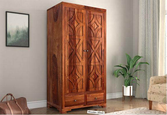 Buy wooden wardrobe online, almirah