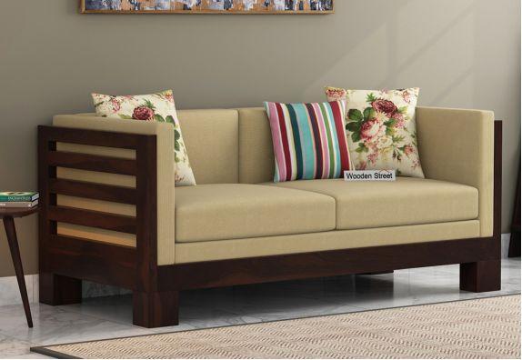 2 Seater Wooden Sofa Online Bangalore Gurgaon Chandigarh