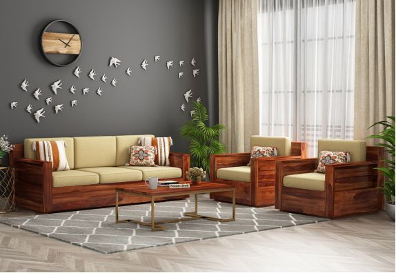 latest wooden sofa designs: Wooden sofa 3 2 Mumbai