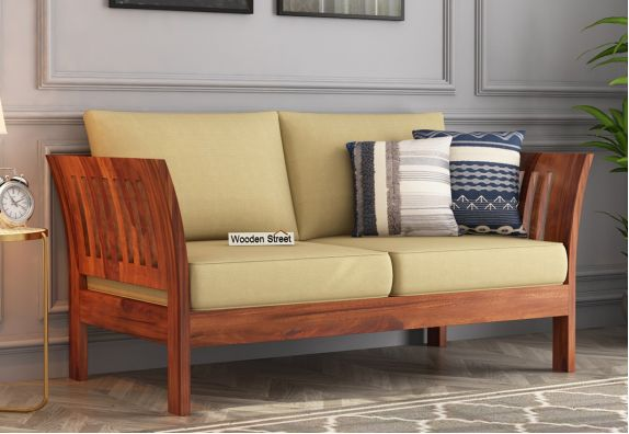 2 Seater Wooden Sofa Online India
