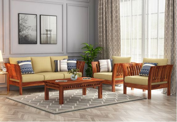 Buy wooden couches online in India