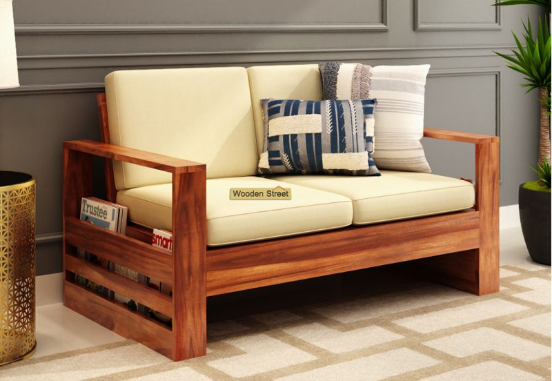 Winster 2 Seater Wooden Sofa / Couch design 2020