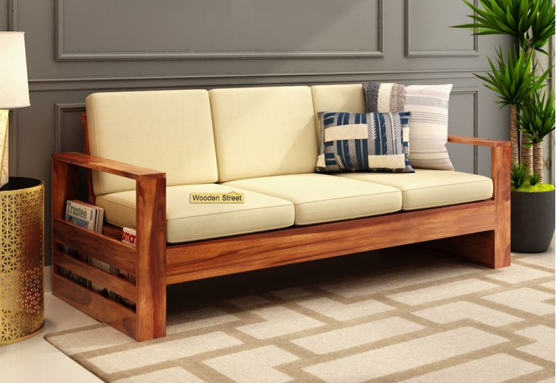 Winster 3 Seater Wooden Sofa Set price under 20000