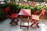 Review Myrick Balcony Table And Chair Set (Red)