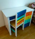 Review Pixie Kids Study Table With Drawers (White Finish)
