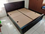 Review Morse Bed With Storage (Queen Size, Walnut Finish)