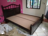 Review Madison Bed Without Storage (Queen Size, Walnut Finish)