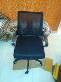 Review Porus Mesh Revolving Office Chair (Black)