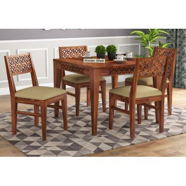 buy 4 seater dining table set online india