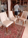 Review Ashford 4 Seater Dining Table Set (Honey Finish)