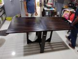 Review Paul Foldable Dining Table (Honey Finish)