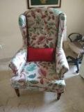 Review Danon Wingback Chair (Rosy Leaf)