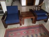 Review Winster Wooden Sofa Set (Honey Finish)