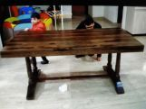 Review Redigo Dining Table (Honey Finish)