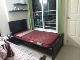 Review Adolph Single Bed Without Storage (Teak Finish)