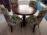 Review Orkus Round 4 Seater Dining Table (Honey Finish)