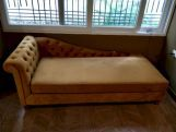 Review Begonia Chaise Lounge (Chestnut Brown)