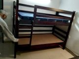 Review Hout Bunk Bed (Walnut Finish)
