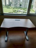 Review Remo Hydraulic Study Table (Exotic Teak Finish)