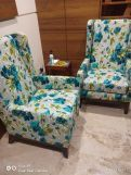 Review Joan Lounge Chair (Cotton, Bubble Robins)