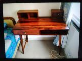 Review Lynton Study Table with Table-Top Storage (Honey Finish)