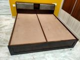 Review Walken Bed With Box Storage (King Size, Walnut Finish)