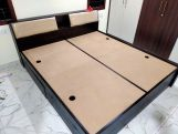 Review Walken Bed With Storage (King Size, Honey Finish)
