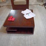 Review Liddle Tea Table (Walnut Finish)