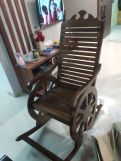 Review Silvio Rocking Chair (Walnut Finish)