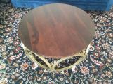 Review Hoop Coffee Table (Honey Finish)