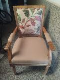 Review Orchid Arm Chair (Irish Cream, Rosy Leaf)