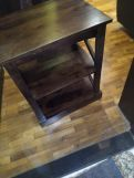 Review Adonis Chair Side End Table (Mahogany Finish)