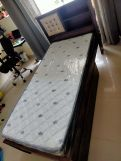 Review Nova Single Bed With Storage (Honey Finish)
