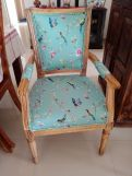 Review Orchid Arm Chair (Dusky Rose, Scarlet Blue)