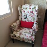 Review Danon Lounge Chair (Rosy Leaf)