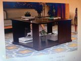 Review Larson Coffee Table (Flowery Wenge Finish)