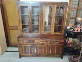 Review Bago Kitchen Cabinet (Teak Finish)