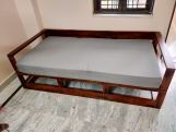 Review Bacon Divan Cum Bed (King Size, Walnut Finish)