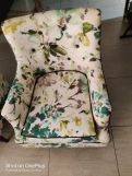 Review Adoree Arm Chair (Dusky Leaf)