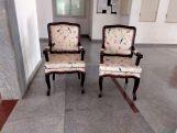 Review Kelvin Arm Chair (Fabric, Dusky Leaf)