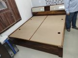 Review Walken Bed With Storage (Queen Size, Walnut Finish)