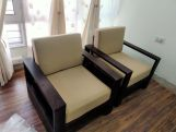 Review Winster Wooden Sofa Set (Honey Finish)
