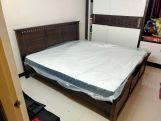 Review Adolph Bed Without Storage (Queen Size, Honey Finish)