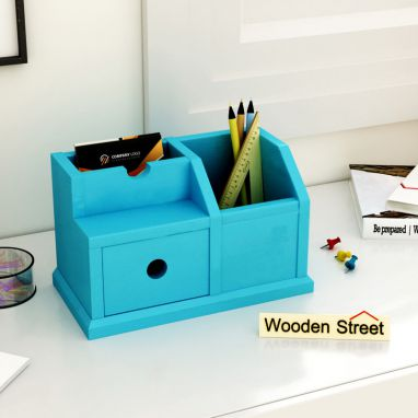 Lee Table Organizer (Blue)
